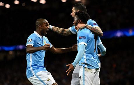 Manchester City, Fernandinho, Dynamo Kiev, Andriy Yarmolenko,