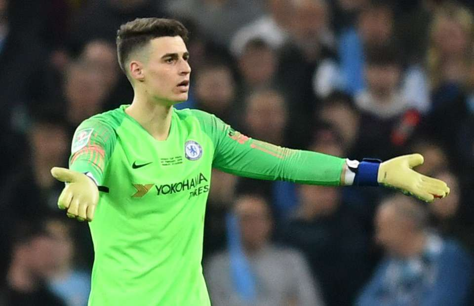 Chelsea, Chris Sutton, Kepa Arrizabalaga, Willy Caballero, Maurizio Sarri, Manchester City,