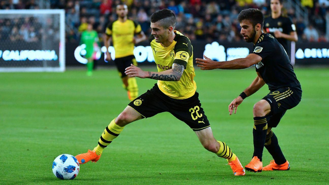 orussia Dortmund, Christian Pulisic, Liverpool, Chelsea, Manchester United,